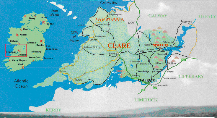 Location Scarriff Holiday Homes County Clare Ireland